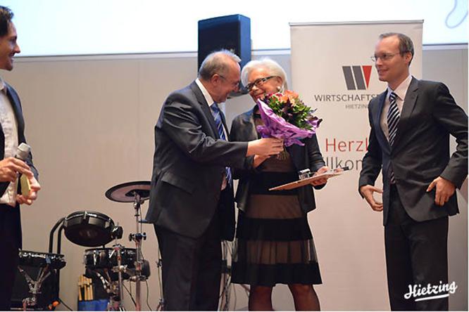 Hietzinger Merkur 2013 geht an Lady Apart – Babette Jungbluth